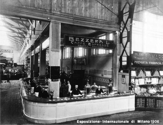 اسپرسو از سال های 1900 در ایتالیا شروع شد