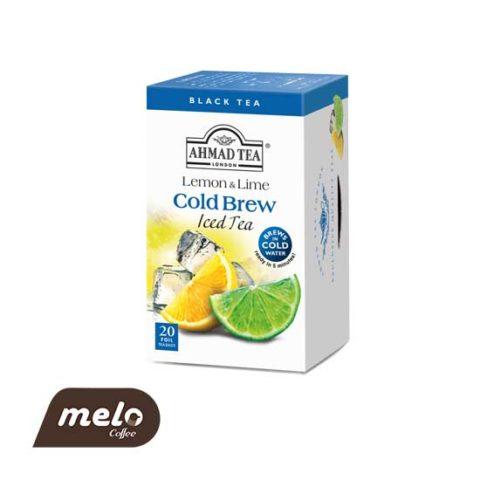 چای cold brew احمد لیمو
