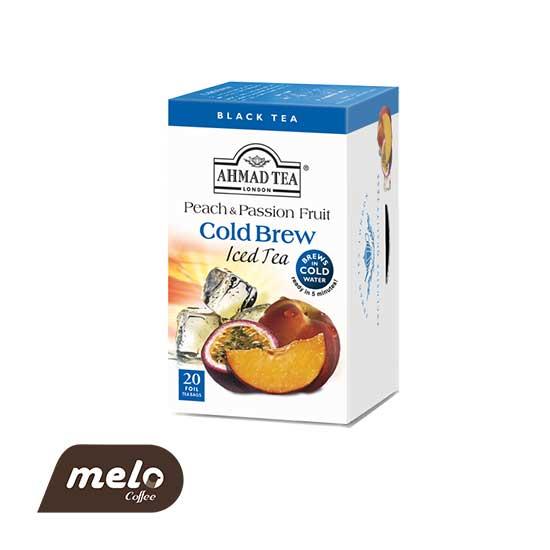 چای cold brew احمد هلو و میوه های وحشی