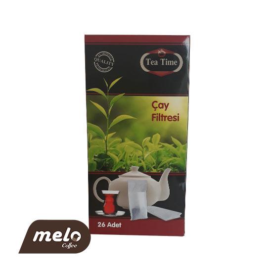فیلتر چای و دمنوش یکبار مصرف 26 عددی