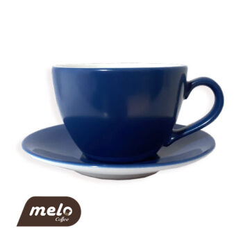 فنجان لاته آبی رنگ (Echenbach)